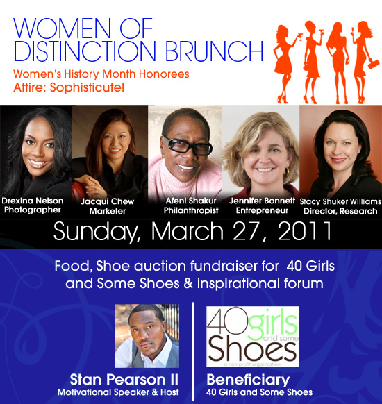 Click here to reserve your seat for the Women of Distinction Brunch today!